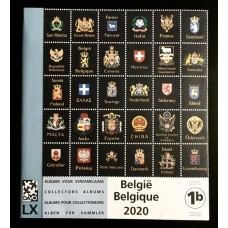 2020 - supplement, stamps from souvenir sheets and booklets  - 1b
