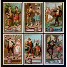 LIEBIG - 1883/85 - Carnival in Italy 1° - 6 fig.
