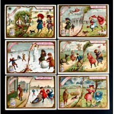 LIEBIG - 1895 - Various weather elements 1° - 6 fig.